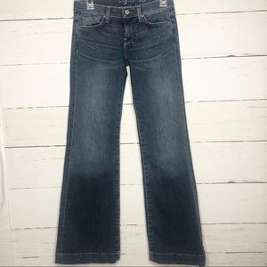 7 for all mankind DOJO Jeans 25